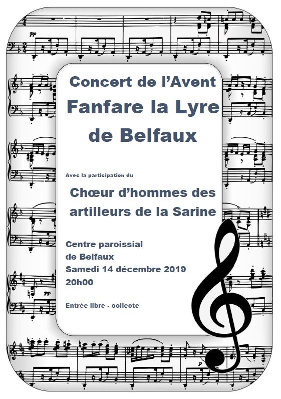 Concert de l'Avent 2019